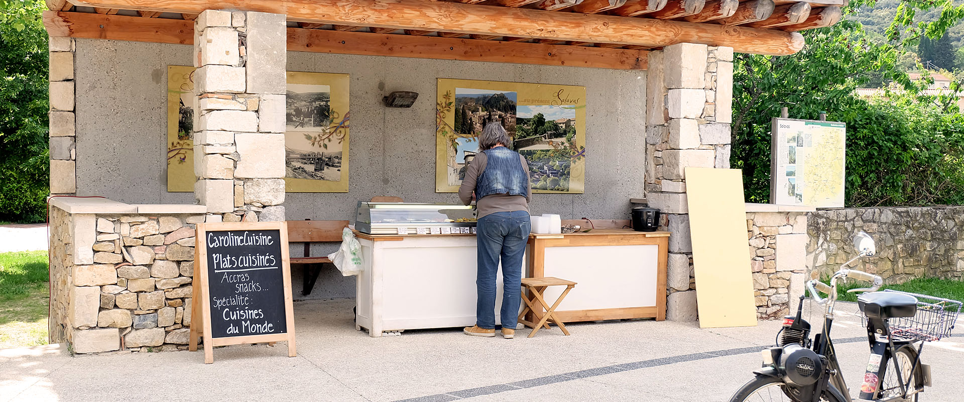 Slideshow 07 Vie Quotidienne A Salavas En Ardeche